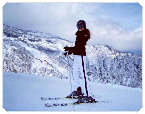 神田うのスキー