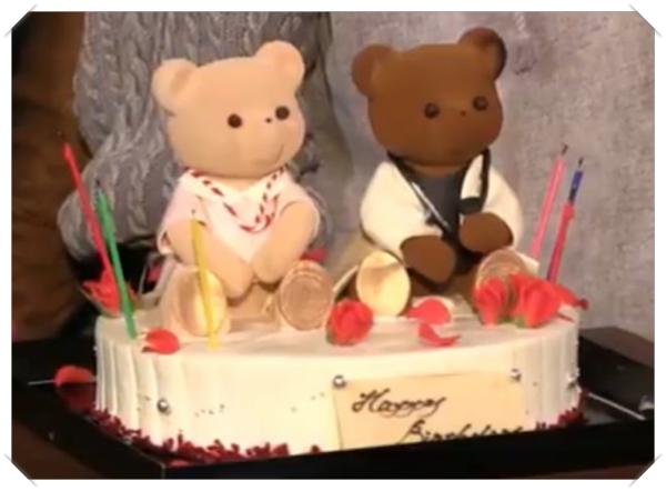 クマのケーキ2