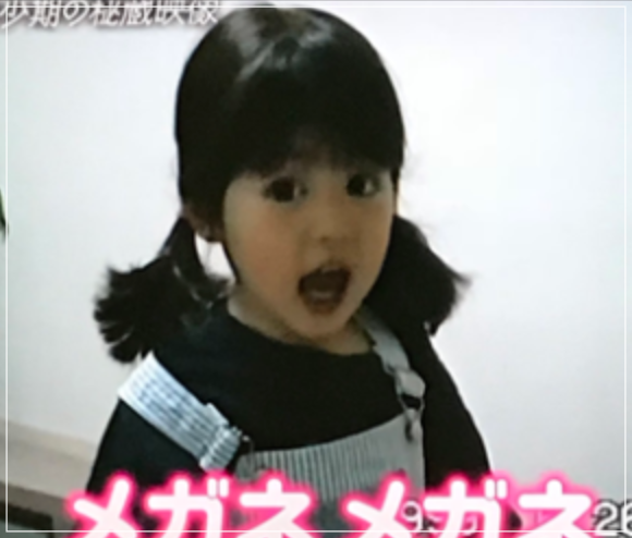 今田美桜3歳