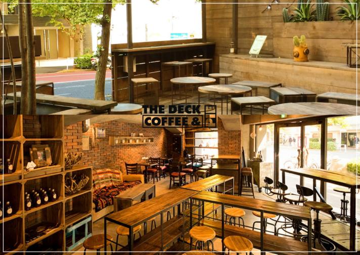 実際のカフェ