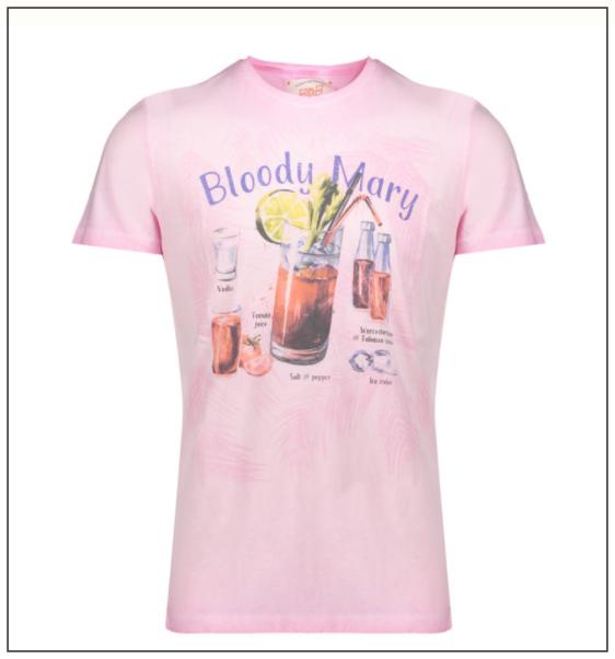 三浦春馬が着たピンクTシャツ(衣装)