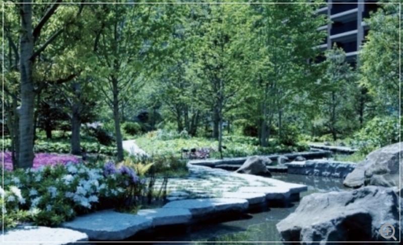 緑豊かな環境