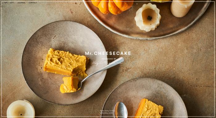ミスターチーズケーキ公式HP