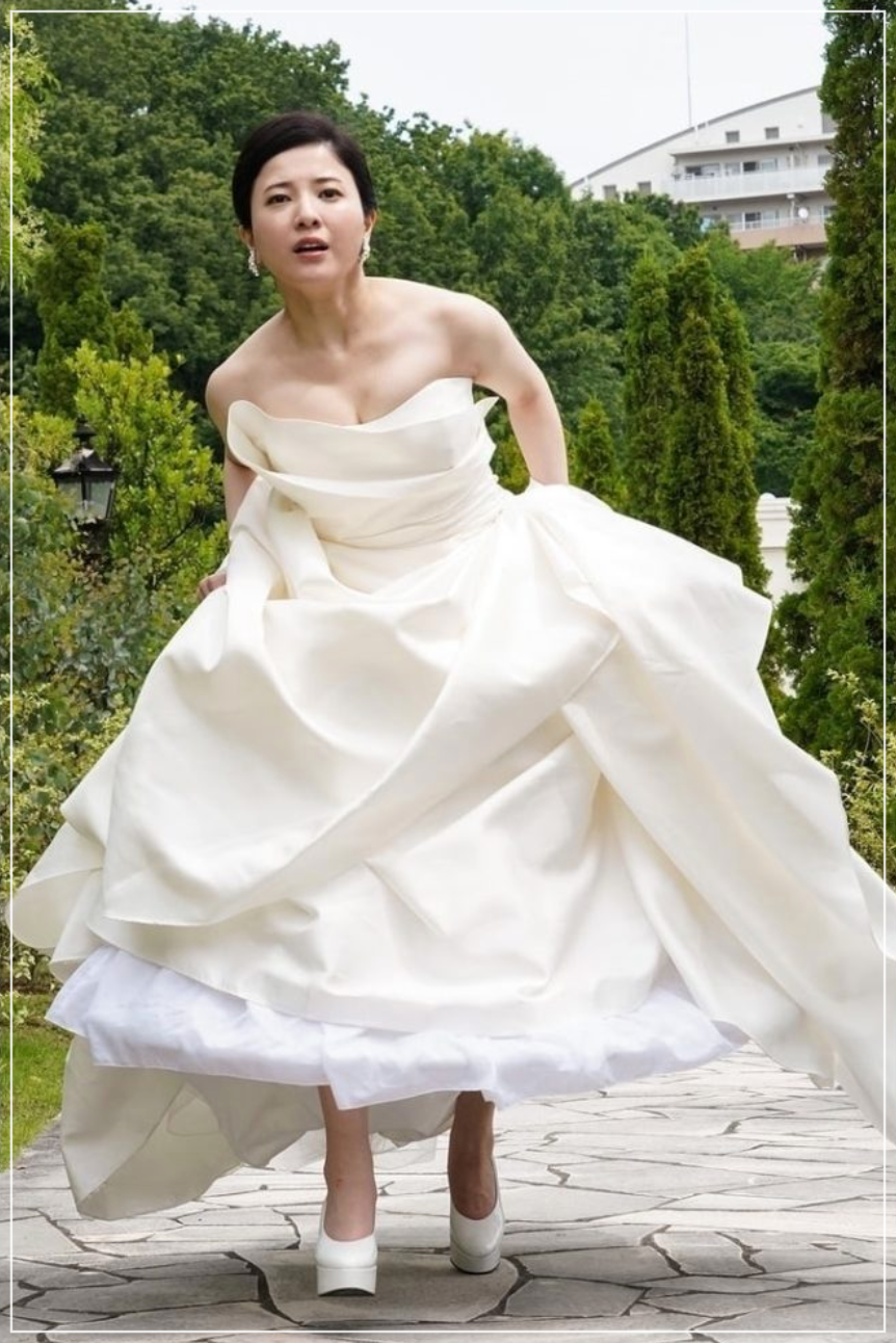 吉高由里子ウェディングドレス姿