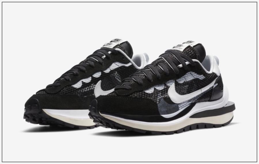 ブラックホワイト靴