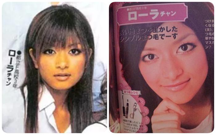 ローラ雑誌モデル時代2