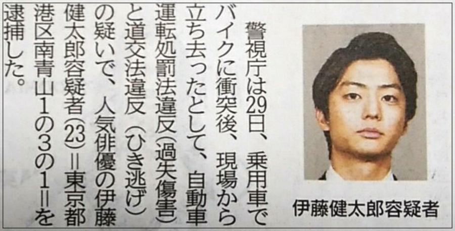 伊藤健太郎の住所が新聞に掲載