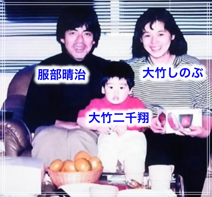 服部晴治と家族