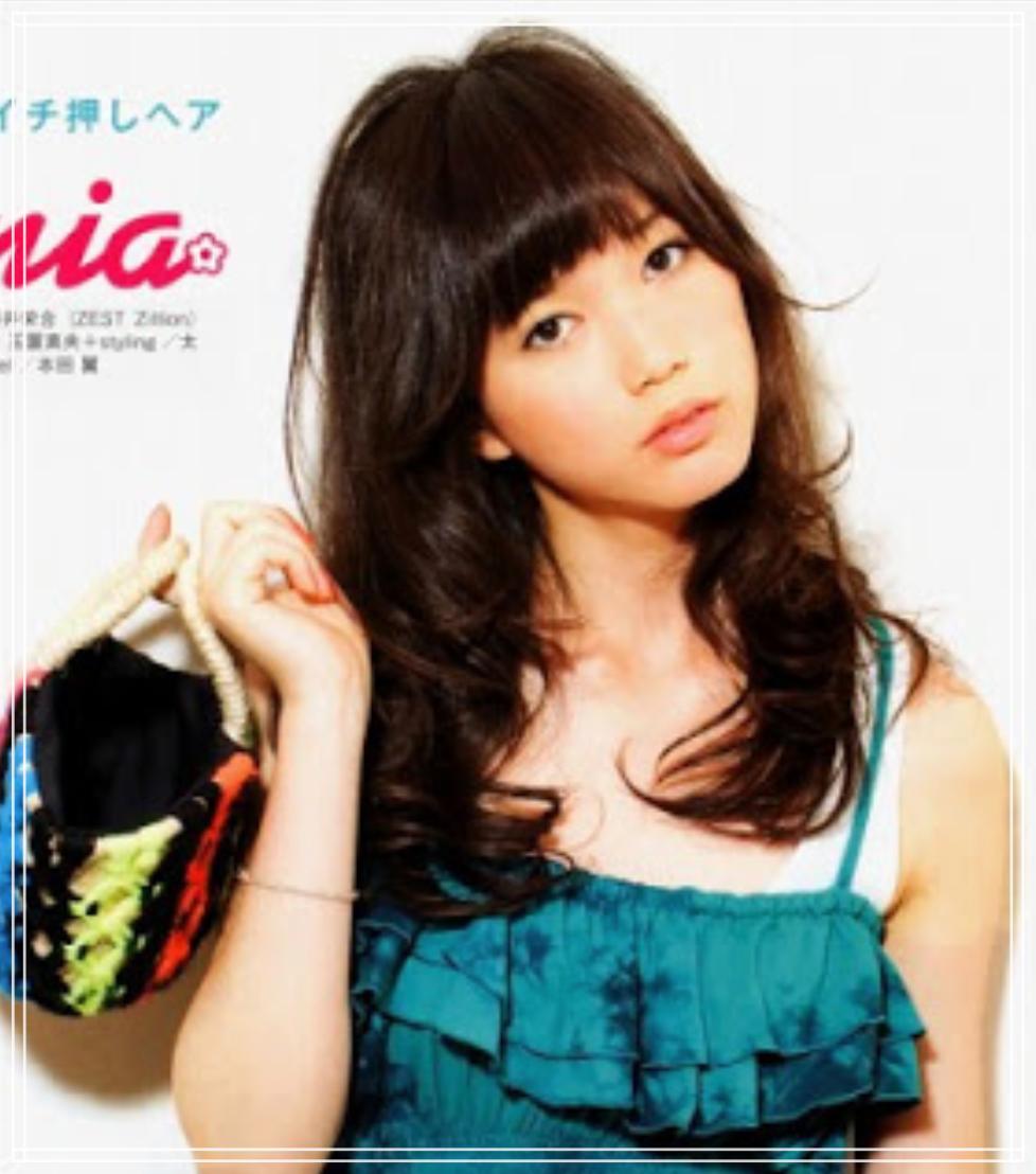 2009年の本田翼(JILLE)