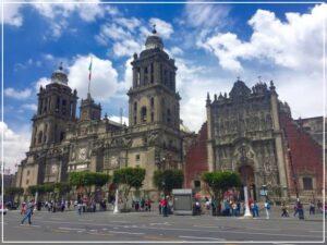 メキシコシティの建造物