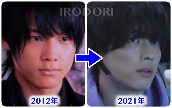 松村北斗2012年と2021年を比較