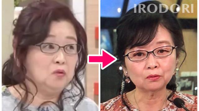 岡田晴恵の体型比較