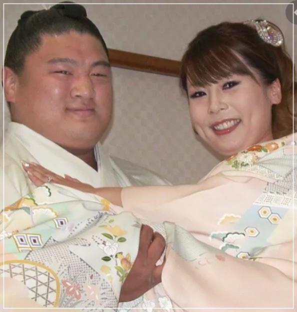 結婚当時の2人