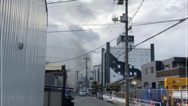 南区泉田火事